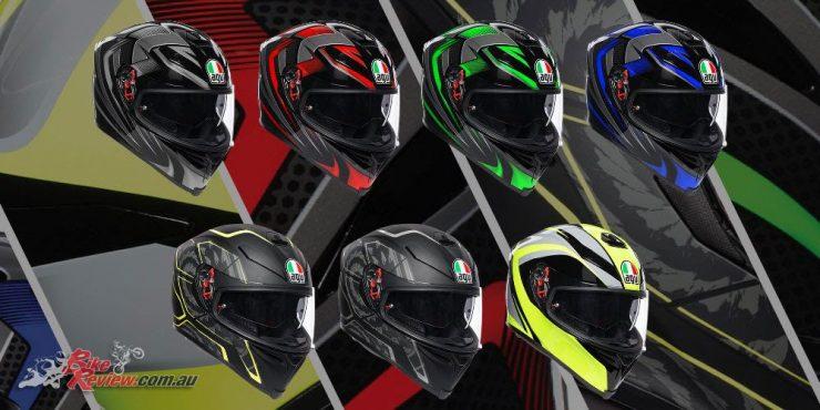 AGV's K-5 S helmet arriving in new graphics
