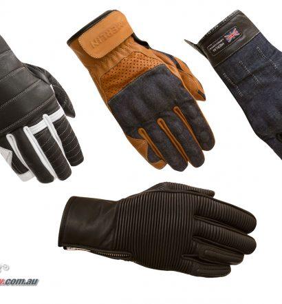 Merlin 2019 Motorcycle Glove range updated