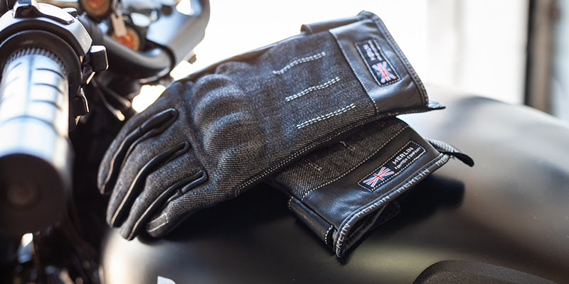 Merlin Icon Leather Gloves