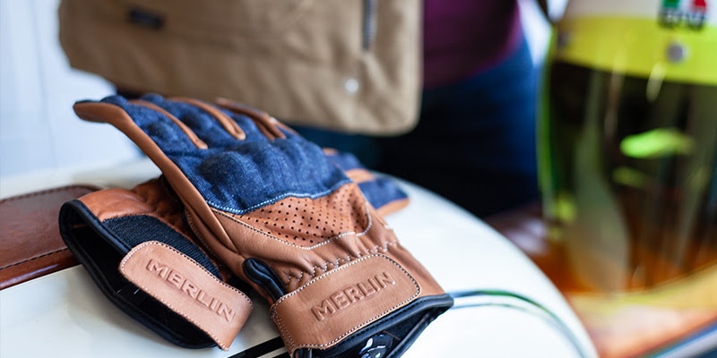Merlin Maple Leather Gloves