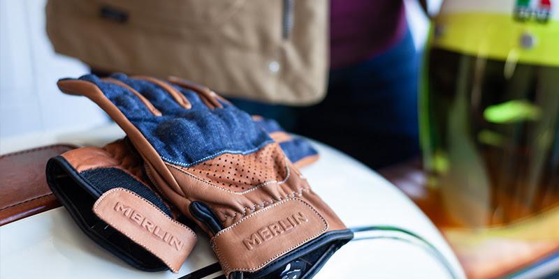 Merlin Maple Leather Gloves