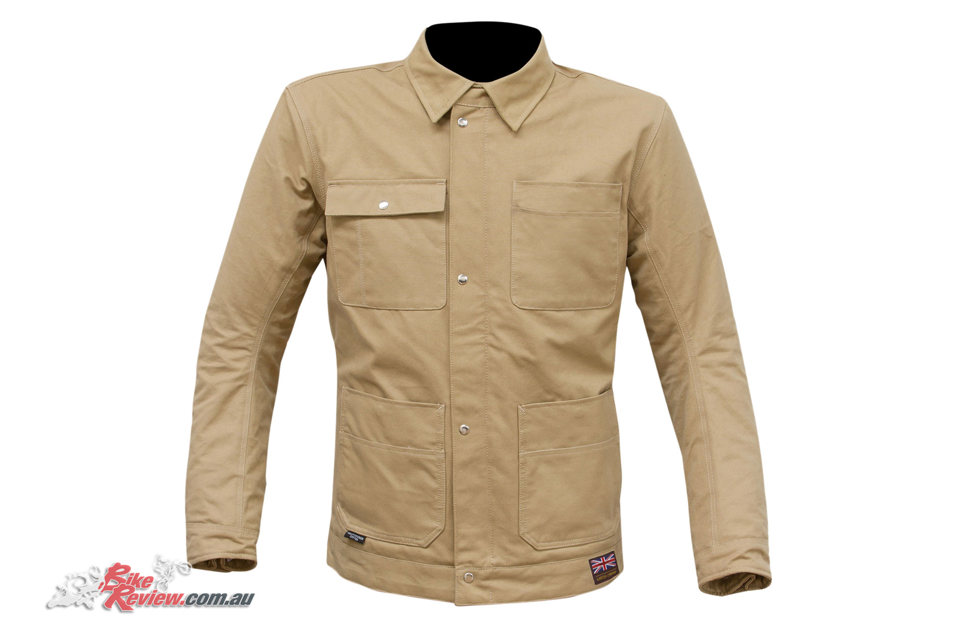 Merlin Victory Jacket - Tan