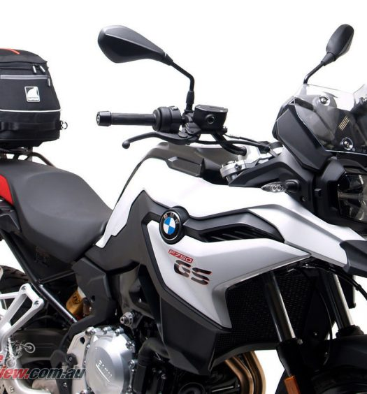 Ventura for the BMW F 750 GS and F 850 GS models - EVO-22 shown