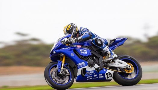Yamaha's Falzon tops Friday ASBK at The Bend