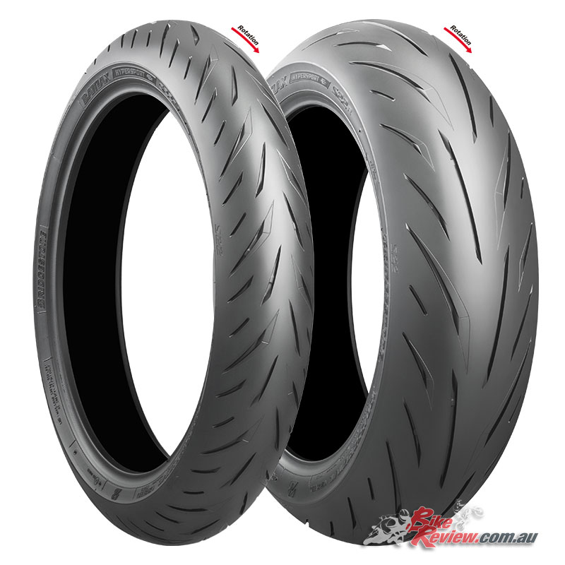The Bridgestone Battlax Hypersport S22 are available in a range of sizes, with some S21 sizes being retained