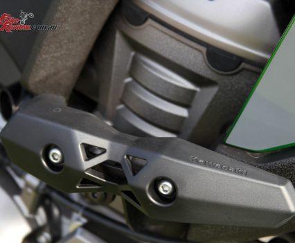 Versys 1000 SE frame sliders
