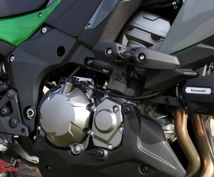 The Versys 1000 SE features an in-line four-cylinder, with 120hp and is plenty capable of providing some thrills