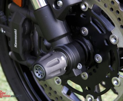 Versys 1000 SE Axle sliders