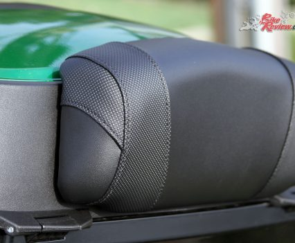 Versys 1000 SE Top Box Back Rest Pad