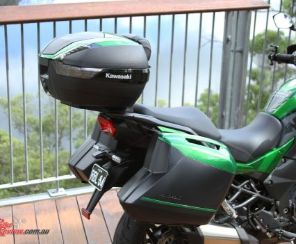 Versys 1000 SE luggage - Panniers and Top Box kit