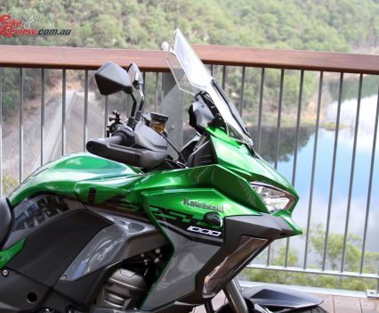 2019 Kawasaki Versys 1000 SE - Featuring adjustable screen and cornering lights