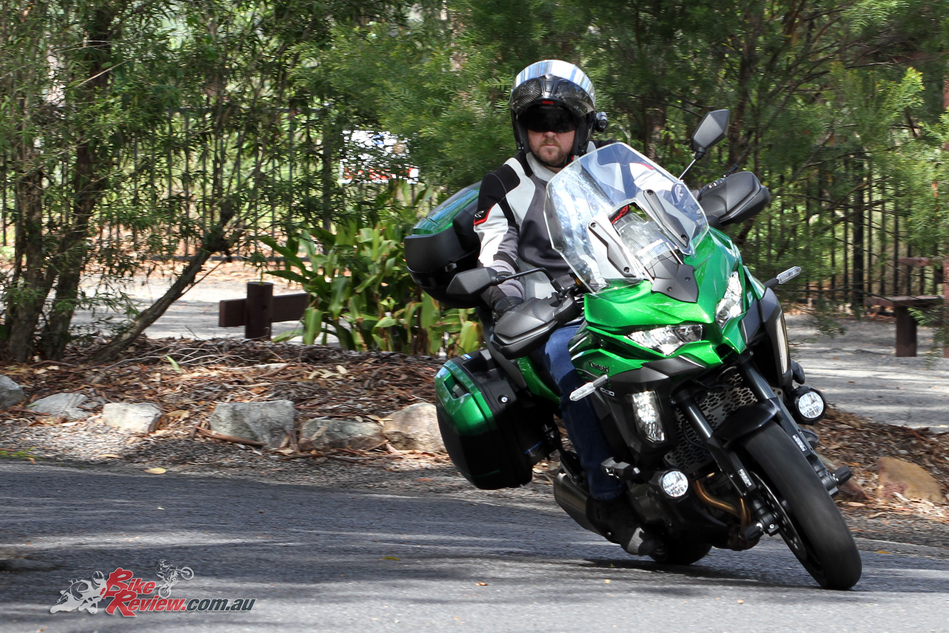 The one area I found the Versys 1000 SE a handful was through the tight hairpin turns