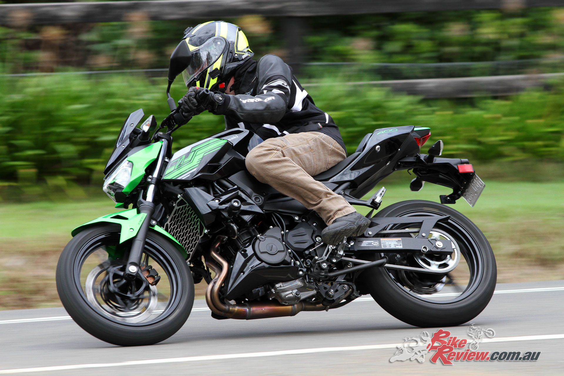 A nimble machine through the twisties, commuting and freeway riding are equally easy