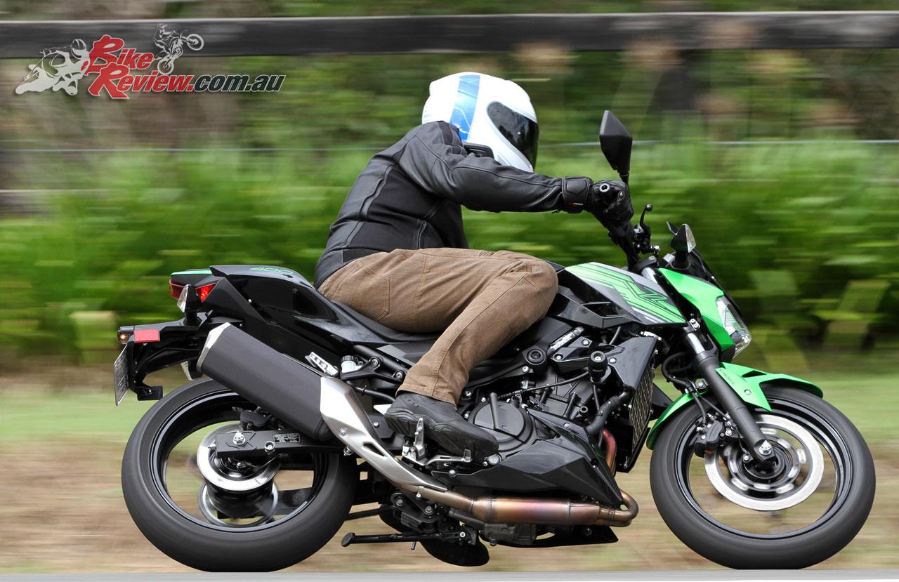 Review 2019 Kawasaki Z400 Lams Bike Review