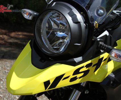 2019 Suzuki V-Strom 250 headlight