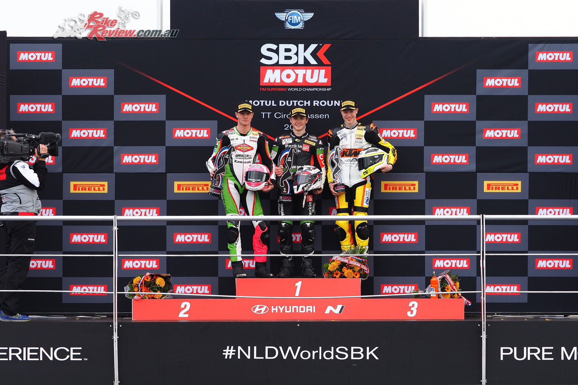 World Supersport 300 Podium - Assen WorldSBK 2019
