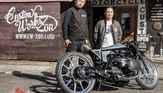 Custom: Custom Works Zon – BMW 'Big Boxer'