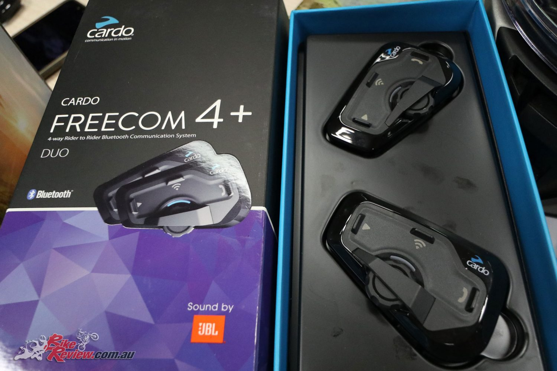 Cardo Freecom 4+ Motorcycle Bluetooth Communication System
