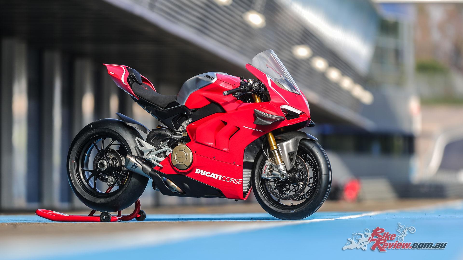 Ducati's Panigale V4 R