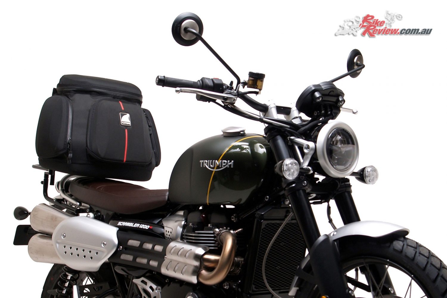 Ventura announce the full luggage range options for Triumph's new Scrambler 1200s
