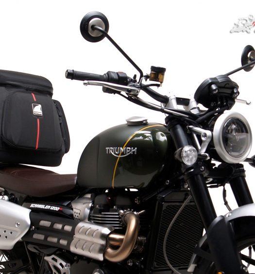 Ventura announce the full luggage range options for Triumph's new Scrambler 1200s