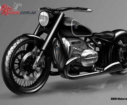 BMW Motorrad R18 Concept Big Boxer concept art
