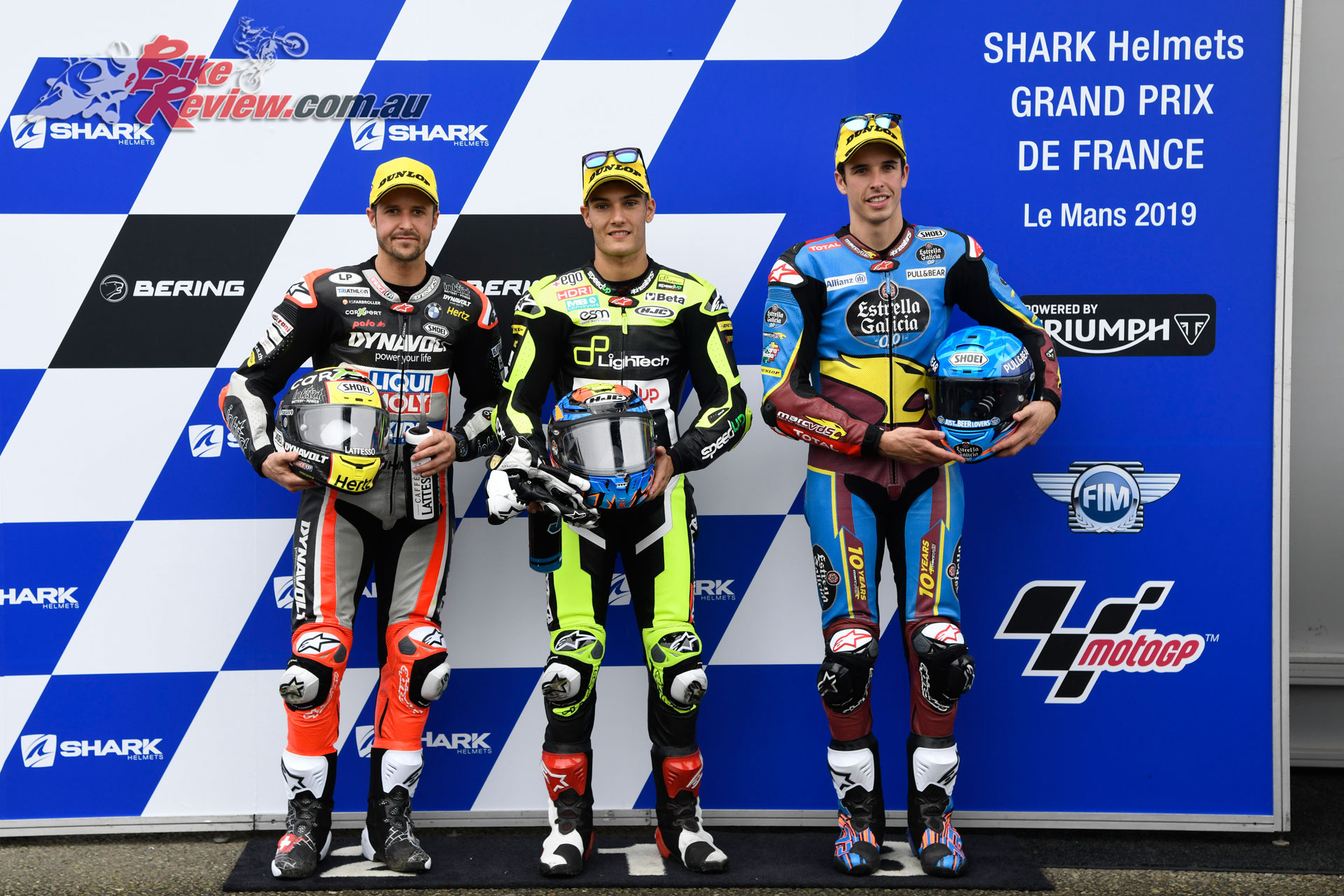 Moto2 Qualifying Top 3 - Le Mans, France, 2019