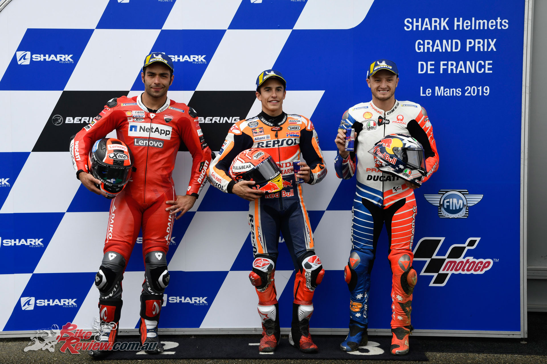 MotoGP Qualifying Top 3 - Le Mans, France, 2019