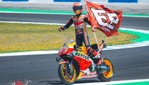 Marquez claims Jerez victory – Miller & Gardner DNF