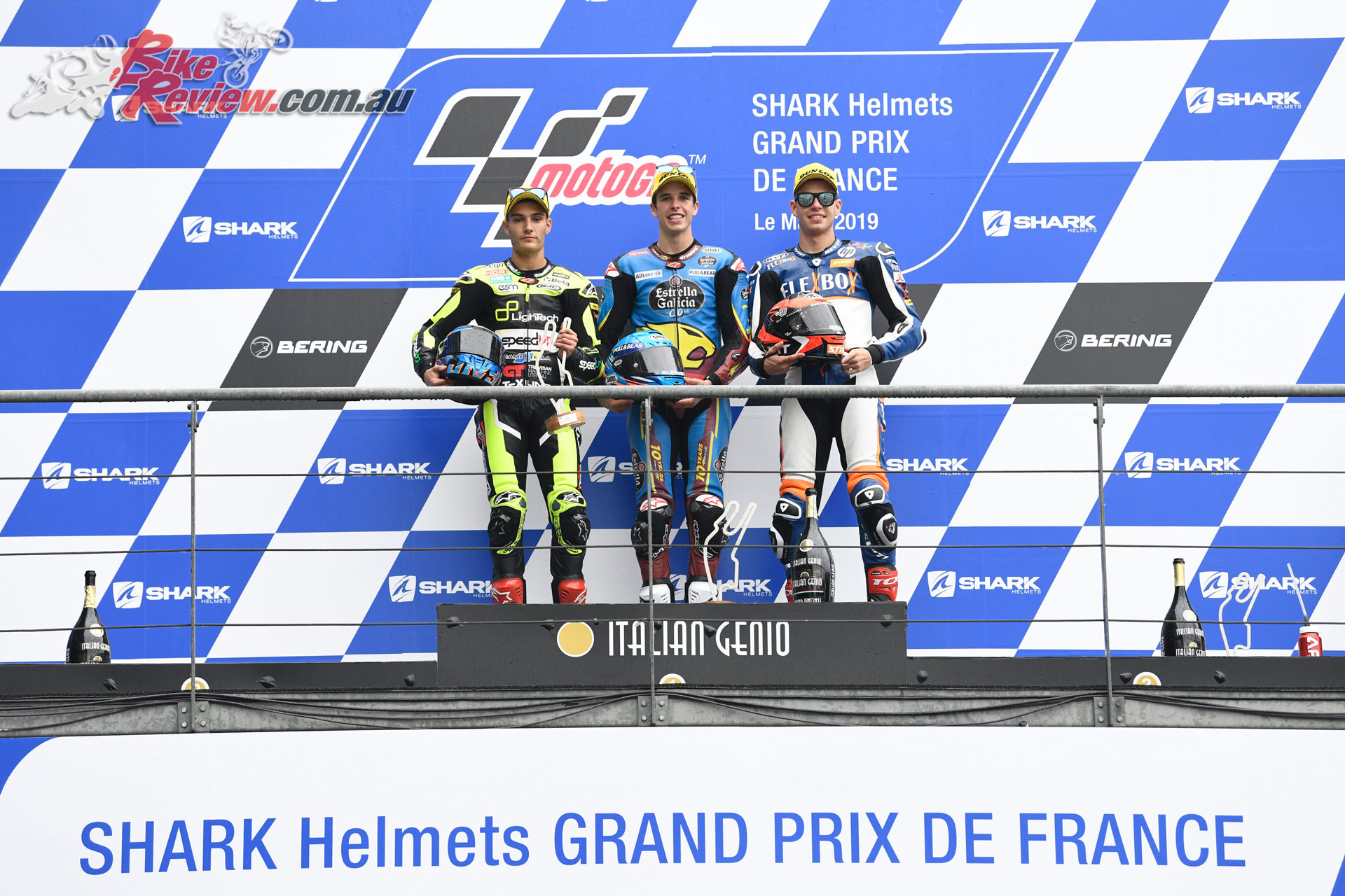 Moto2 Podium - French MotoGP, 2019