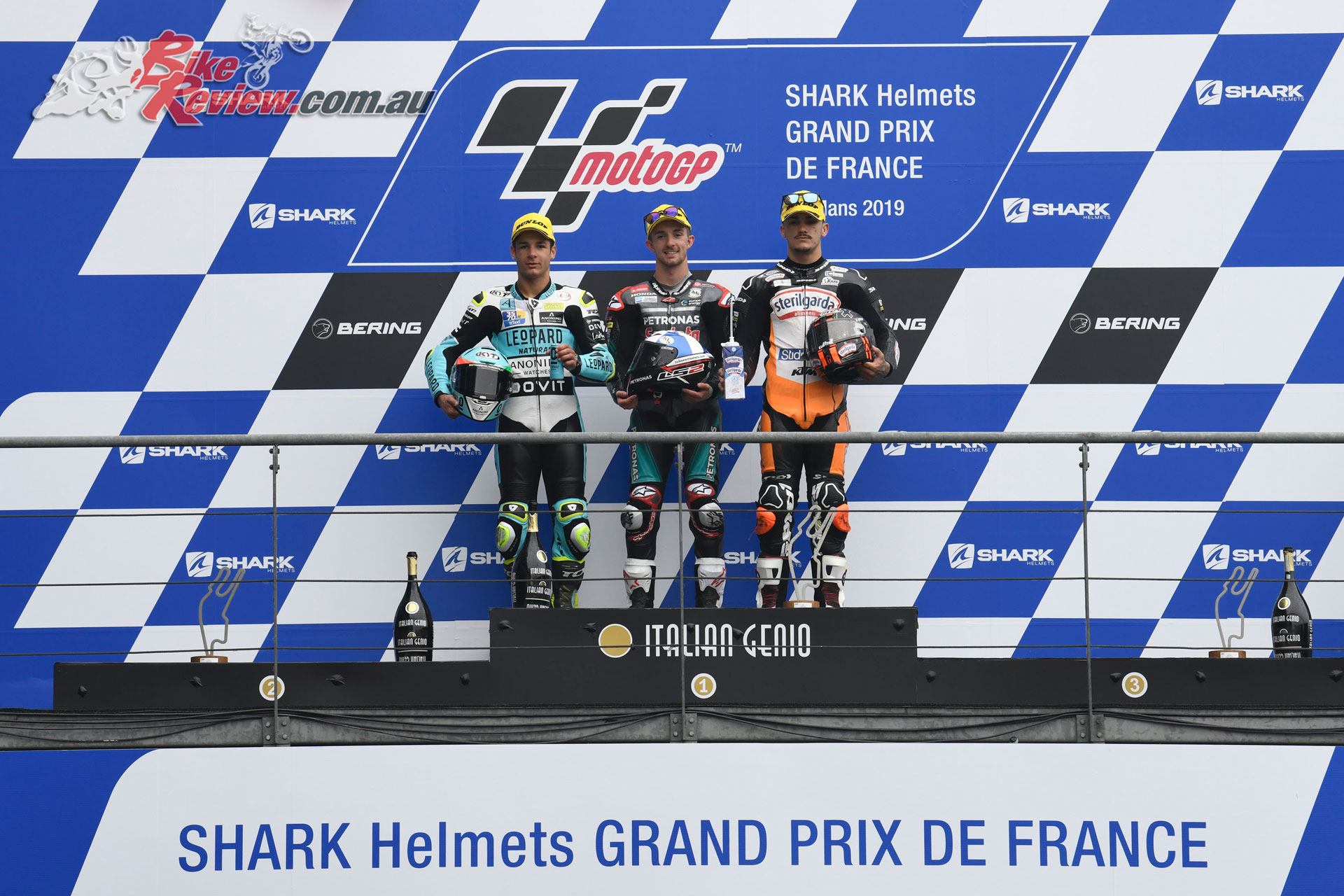 Moto3 Podium - French MotoGP, 2019