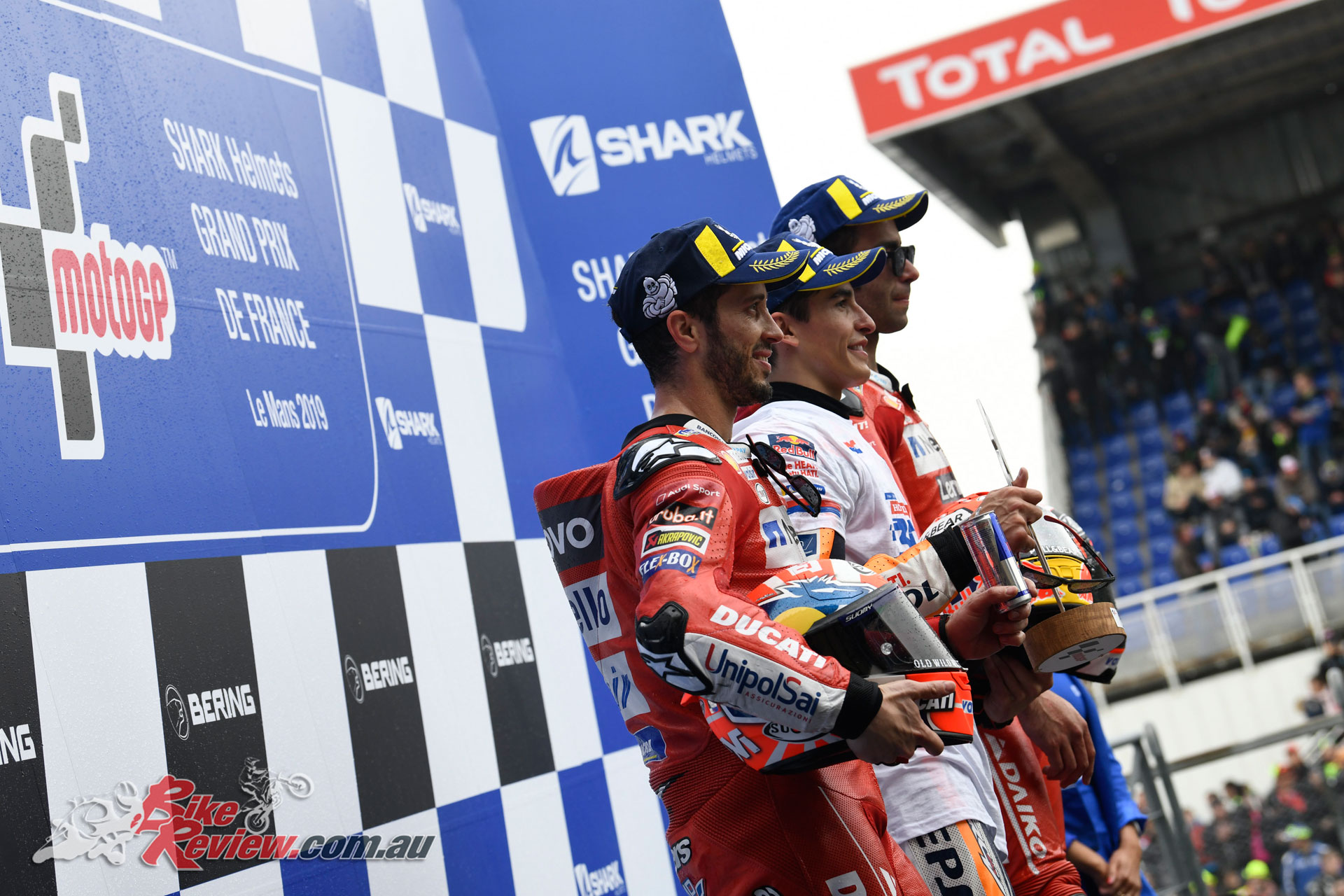 French MotoGP 2019 Podium
