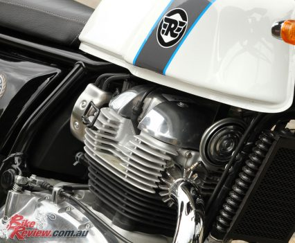 2019 Royal Enfield Continental GT 650 head