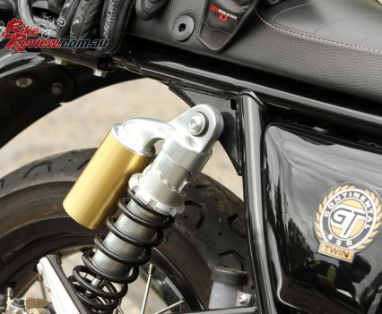 2019 Royal Enfield Continental GT 650 rear shock