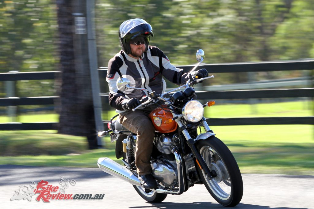 Jeff recently bought his own Interceptor 650 and he loves it!