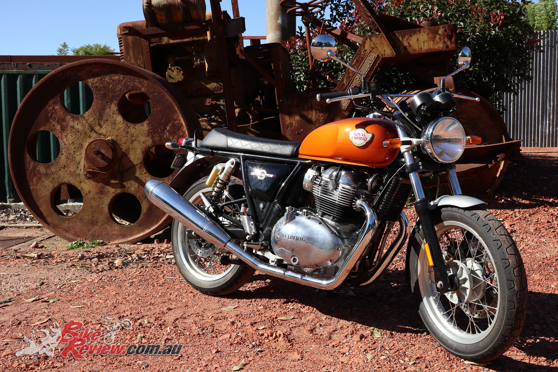 The Royal Enfield Interceptor 650 really offers outstanding styling and value to the right rider