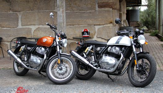 Royal Enfield Twins Demo Experience