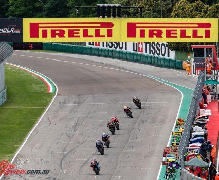 World Superbikes at Imola