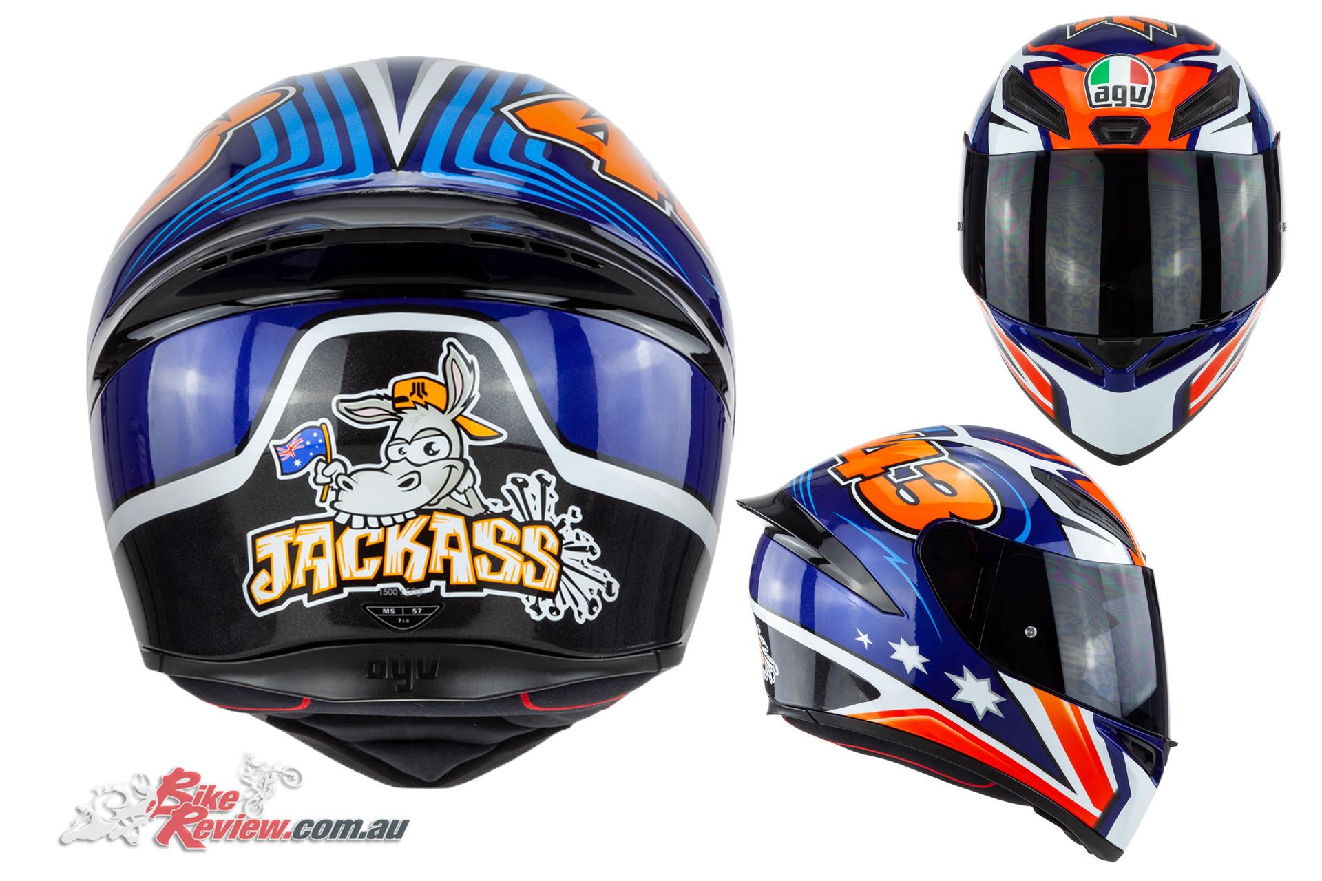 New Product Agv K 1 Miller Helmet 349 00 Rrp Bike Review