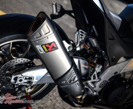 2019 Aprilia RSV4 1100 Factory Akro exhaust