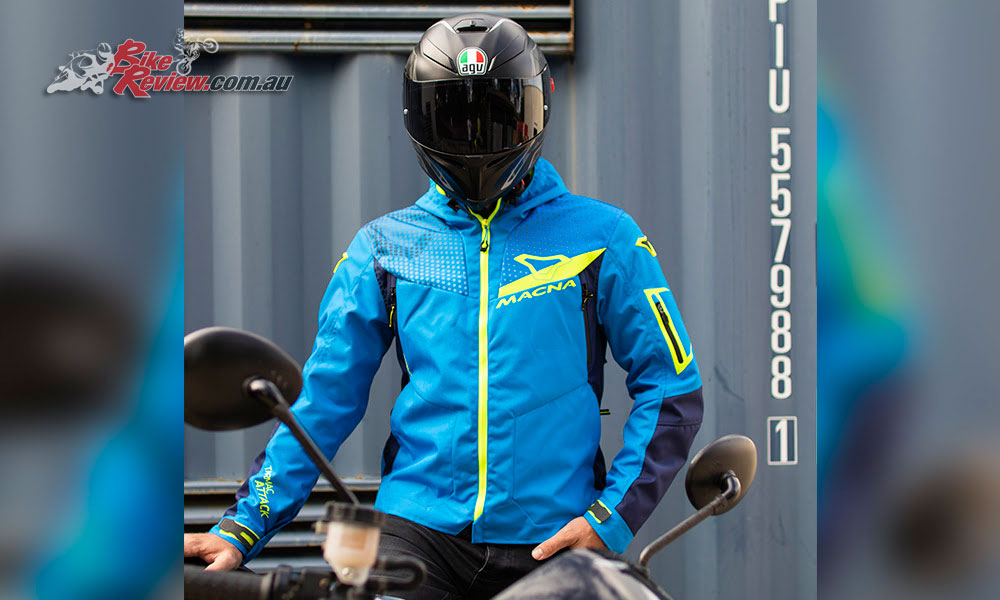 Macna Imbuz Jacket arrives in Oz
