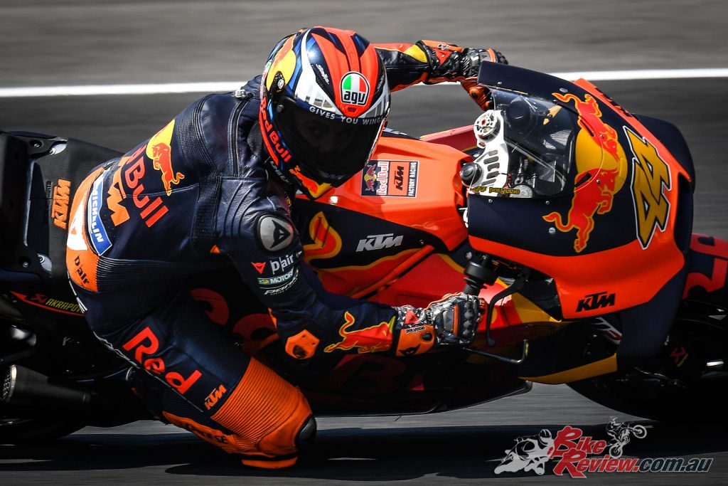 Espargaro's move from KTM to the Repsol Honda Team was confirmed just before Jerez.