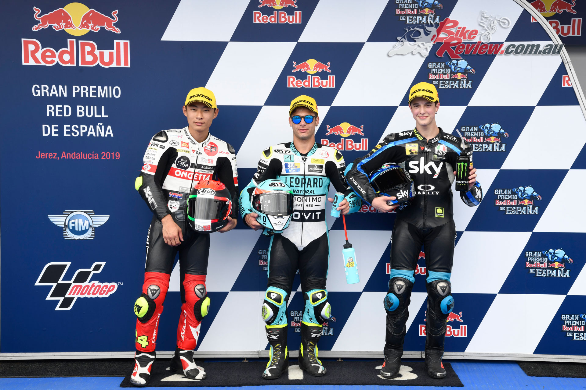 Moto3 Qualifying Top 3