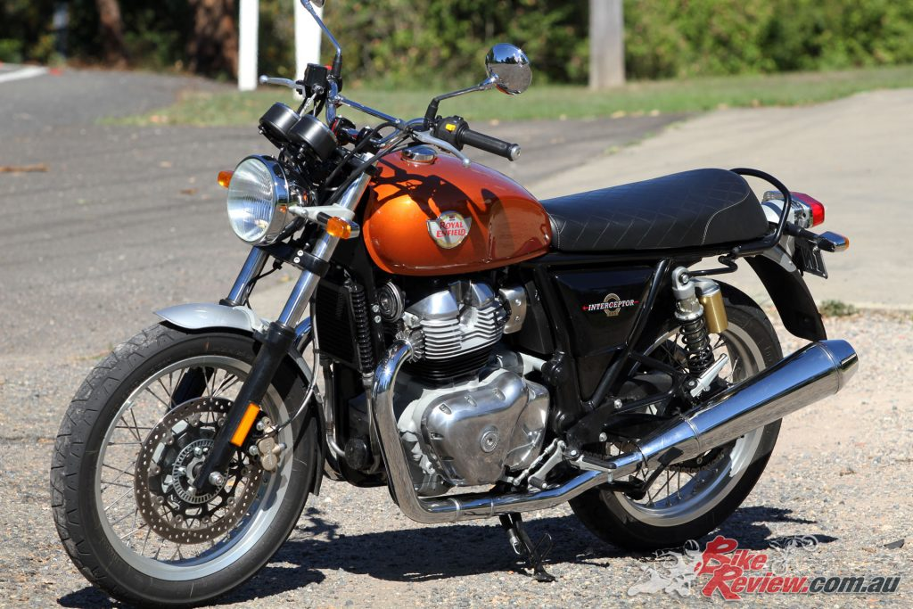 Jeff wanted a meatier exhaust note but also to retain the original pipes on his Royal Enfield Interceptor INT 650.