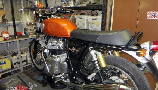 Jeff's Royal Enfield Interceptor 650, run-in and first 1000km