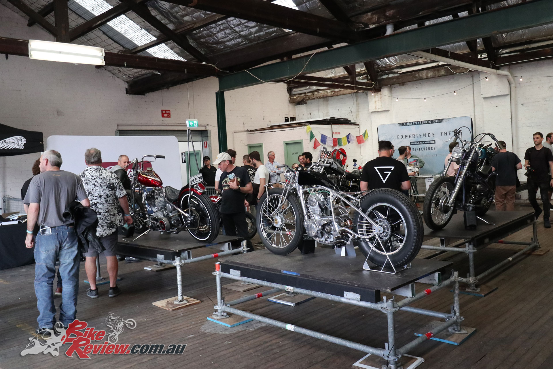 Upstairs at Throttle Roll 2019 had the cream of the crop