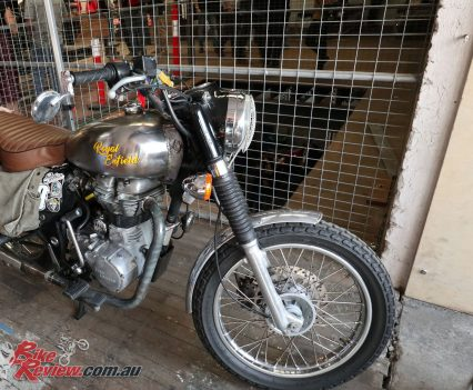 Royal Enfield at Throttle Roll 2019