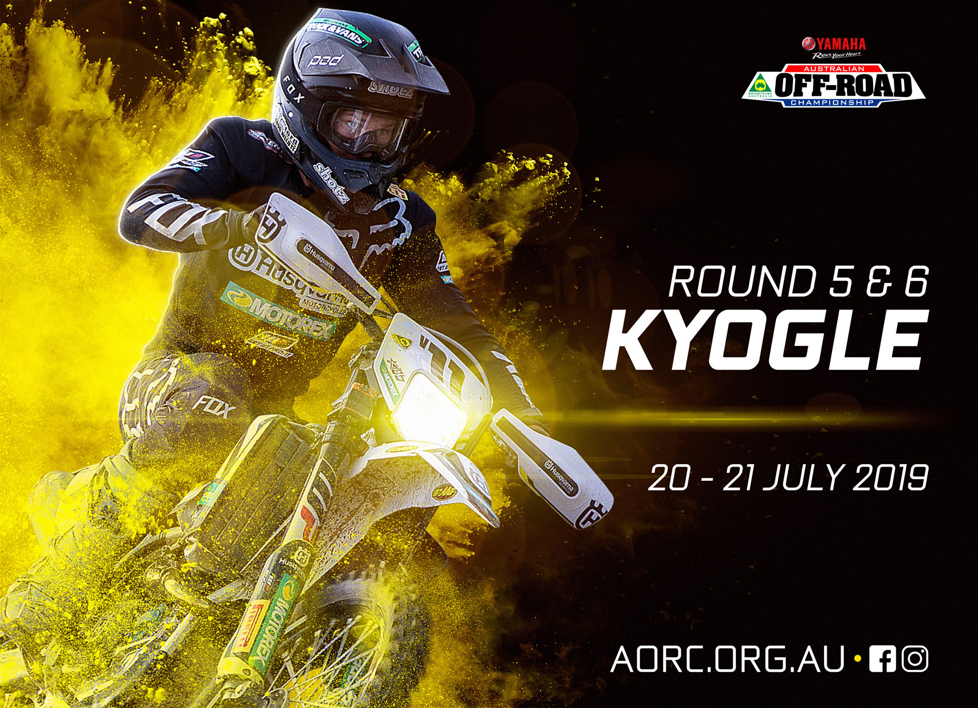 AORC 2019 heads to Kyogle for Rounds 5& 6