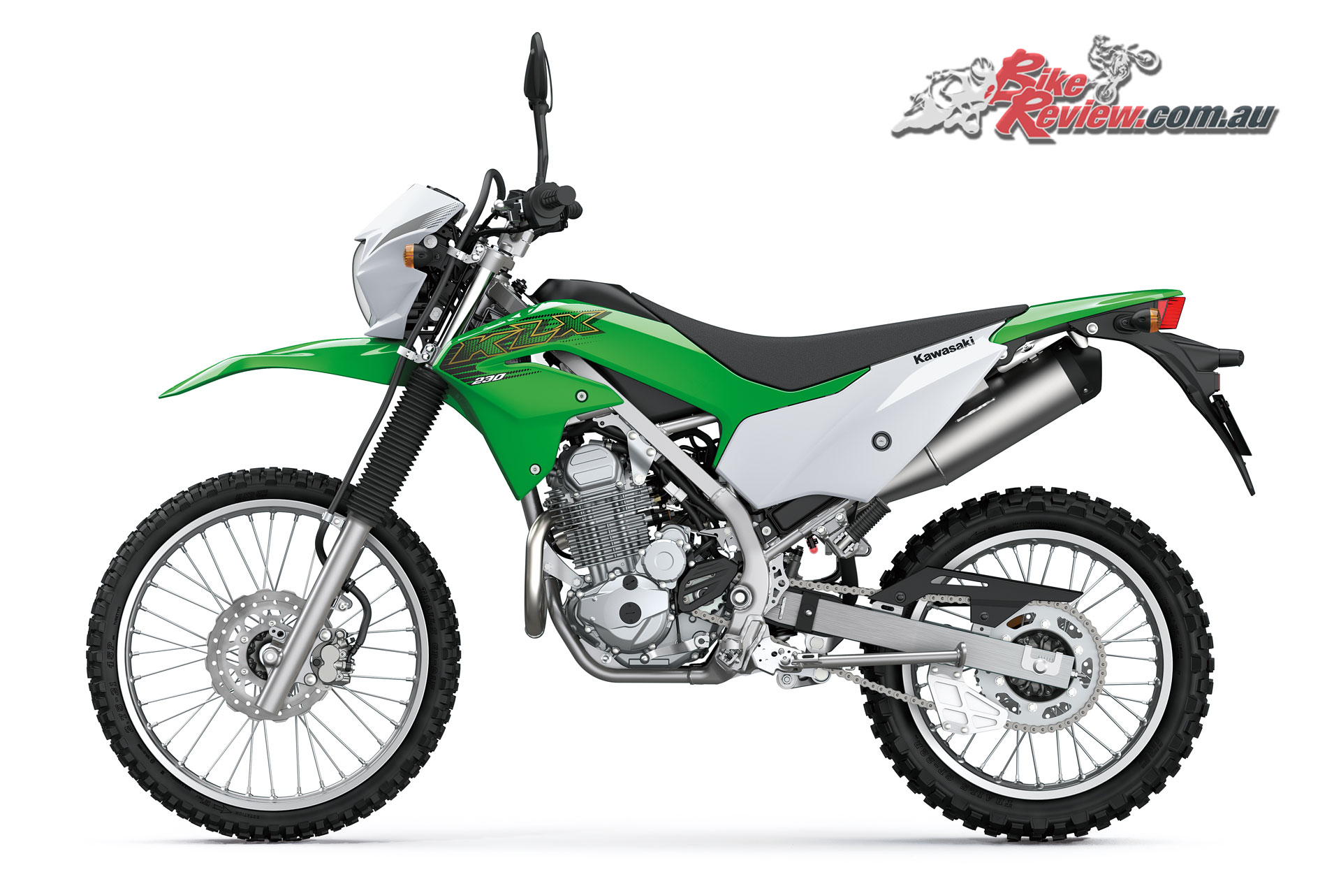 2019 Kawasaki KLX230 with Kawasaki KX styling