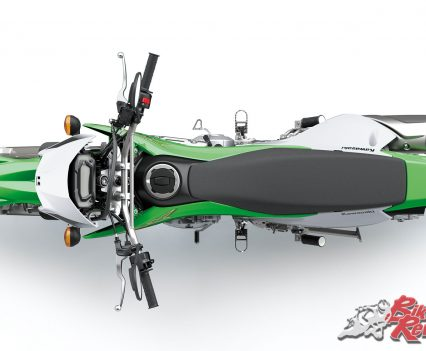2019 Kawasaki KLX230 top view